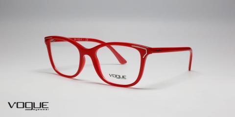 فریم طبی زنانه وگ - Vogue - VO5214 - زاویه سه رخ - قرمز