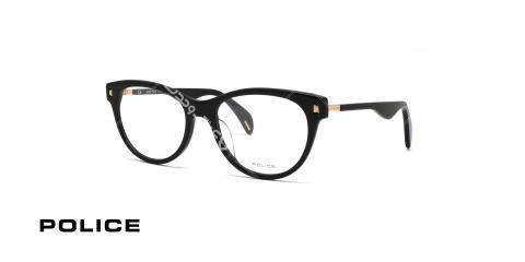 عینک طبی کاچویی پلیس - رنگ مشکی - زاویه سه رخ