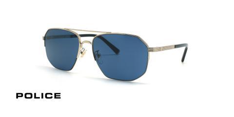 عینک آفتابی پلیس سری لوییز همیلتون - POLICE LEWIS05 SPLA25 - عکاسی وحدت - عکس زاویه سه رخ