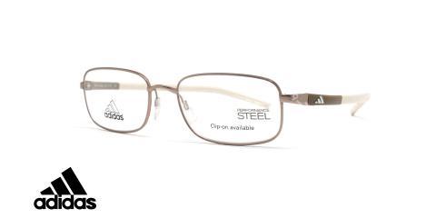 عینک طبی آدیداس فلزی مستطیلی- عکاسی وحدت- زاویه سه رخ