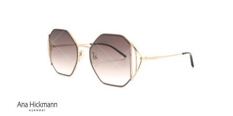 عینک آفتابی چند ضلعی آناهیکمن - Ana Hickmann AH3185 - عکاسی وحدت - عکس زاویه سه رخ