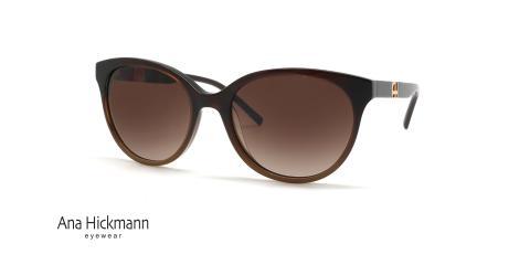 عینک آفتابی آناهیکمن کائوچویی قهوه ای رنگ - زاویه سه رخ