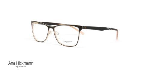 عینک طبی آنا هیکمن- قهوه ای طلایی- ویژه فروش آن لاین- عکس سه رخ