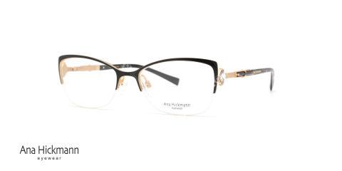عینک طبی گربه ای آنا هیکمن Ana Hickmann AH1294 - عکاسی وحدت - زاویه سه رخ