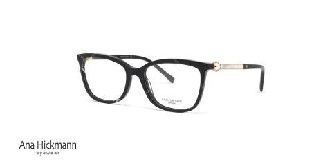 عینک طبی آناهیکمن - مشکی - دو رو - صدفی - عکاسی وحدت - زاویه سه رخ