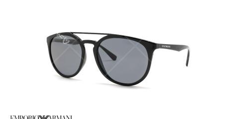 عینک آفتابی گرد دوپل امپریو آرمانی - Emporio Armani EA4103 - عکس از عینک وحدت -  عکس از زاویه سه رخ