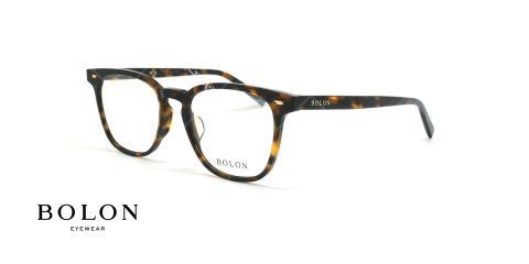 عینک طبی مربعی بولون - BOLON BJ3016 - قهوه ای هاوانا - عکاسی وحدت - زاویه سه رخ