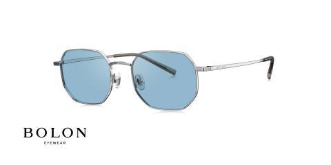 عینک آفتابی چند ضلعی بولون - BOLON BL7113 - عکاسی وحدت - عکس زاویه سه رخ