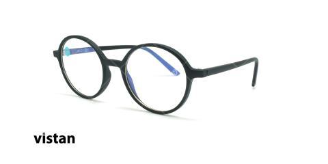 عینک آماده بلوکنترل ویستان VISTAN OB1301 - مشکی - عکاسی وحدت - زاویه سه رخ