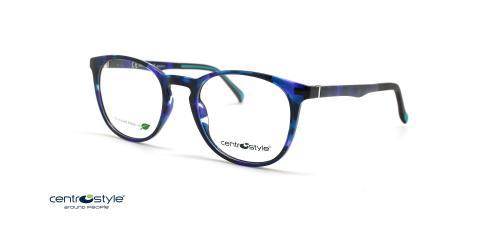 عینک طبی رویه دار سنترو استایل - CentroStyle F0211 - عینک سازگار با محیط زیست - عکس زاویه سه رخ