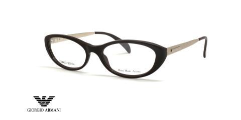 عینک طبی جورجیو آرمانی - GIORGIO ARMANI GA873 - رنگ مشکی -  عکاسی وحدت - عکس زاویه سه رخ