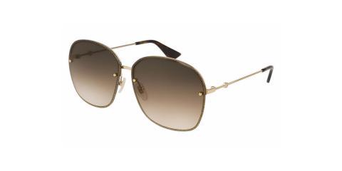 عینک آفتابی گوچی مربعی شکل - زاویه سه رخ