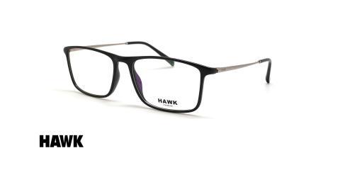 عینک طبی مستطیلی هاوک - HAWK HW7443 - عکاسی وحدت - عکس زاویه سه رخ