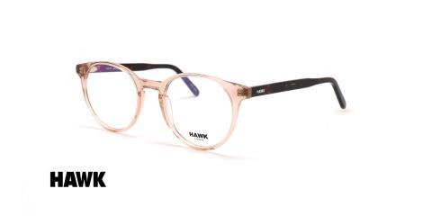 عینک گرد کائوچویی هاوک - HAWK HW7474 - عکاسی وحدت - عکس زاویه سه رخ