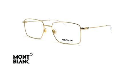 عینک طبی مونت بلانک - MONTBLANC MB0076 -عکاسی وحدت - زاویه سه رخ