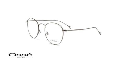 عینگ فلزی گرد اوسه - Osse OS12015 - رنگ فریم نقره ای - عکاسی وحدت- عکس زاویه سه رخ