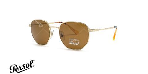 عینک آفتابی فلزی چند ضلعی پرسول - PERSOL PO2446s - عکاسی وحدت - عکس زاویه سه رخ