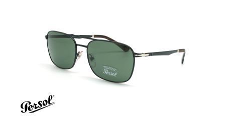 عینک آفتابی مستطیلی پرسول - Persol PO2454S - مشکی - عکاسی وحدت - زاویه سه رخ