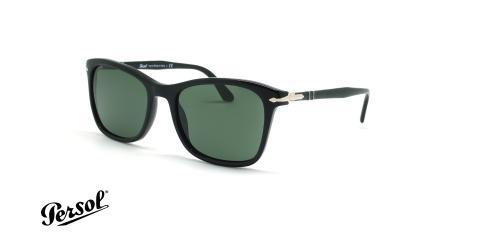 عینک آفتابی مربعی پرسول - Persol PO3192S - مشکی - عکاسی وحدت - زاویه سه رخ