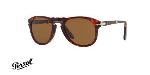 عینک آفتابی پلاریزه تاشوی پرسول مدل استیو مک کوئین - Persol PO714 polarized