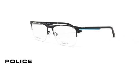 عینک زیر گریف مشکی رنگ پلیس - عکاسی وحدت - زاویه سه رخ