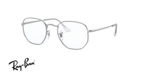 عینک طبی چند ضلعی ری بن -RAYBAN HEXAGONAL OPTICS RB6448 -زاویه سه رخ
