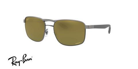 عینک آفتابی ری بن شیشه کرومانس - زاویه سه رخ