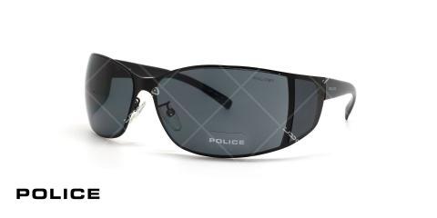 عینک آفتابی پلیس - Police  S8101 - عکاسی وحدت - عکس زاویه سه رخ