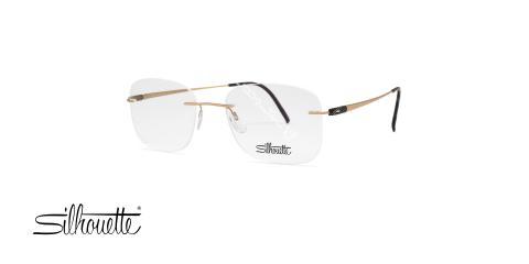 عینک گریف سیلوت - دسته طلایی مشکی - مربعی شکل - عکاسی وحدت - زاویه سه رخ
