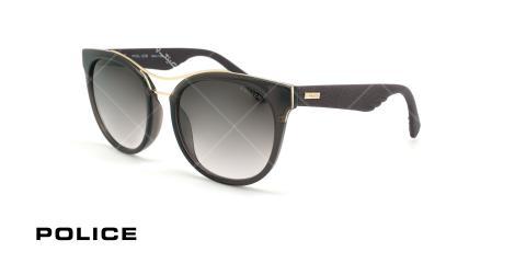 عینک آفتابی پلیس - POLICE SPL412 -فریم مشکی- عکاسی وحدت - زاویه سه رخ