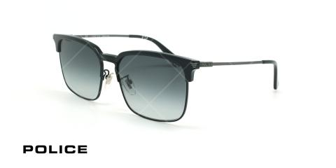 عینک آفتابی پلیس - POLICE SPL576 -فریم مشکی- عکاسی وحدت - زاویه سه رخ