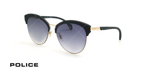 عینک آفتابی پلیس - POLICE SPL619 -فریم مشکی- عکاسی وحدت - زاویه سه رخ