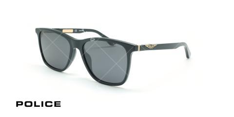 عینک آفتابی پلیس - POLICE SPL872 -فریم مشکی- عکاسی وحدت - زاویه سه رخ