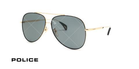عینک آفتابی خلبانی پلیس - POLICE FIREFLY2 SPL934 - طلایی - عکاسی وحدت - زاویه سه رخ