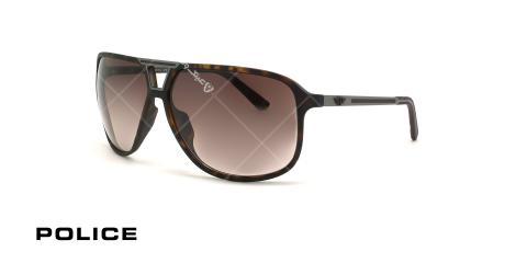 عینک آفتابی بیس دار پلیس POLICE SPL969 - قهوه ای هاوانا - عکاسی وحدت - زاویه سه رخ