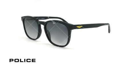 عینک آفتابی مربعی پلیس - POLICE ORIGINS LITE3  SPL997- مشکی - عکاسی وحدت - زاویه سه رخ