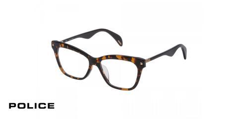 عینک طبی مدل افرودیت 3 - رنگ قهوه ای هاوانا