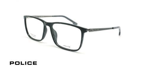 عینک طبی مستطیلی پلیس - POLICE VPL799 LANE1 - عکاسی وحدت - عکس زاویه سه رخ