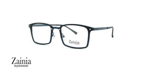 عینک طبی مستطیلی شکل زینیا  Zainia Z1146 C614 - عکاسی وحدت - زاویه سه رخ
