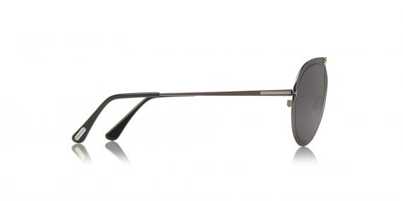عینک آفتابی طرح خلبانی تام فورد - نوک مدادی - زاویه کنار
