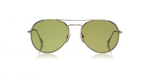 عینک آفتابی تام فورد خلبانی - شیشه سبز