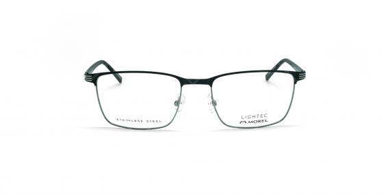 عینک طبی لایتک -  LIGHTEC 30128L - عکاسی وحدت - مشکی - عکس زاویه روبرو