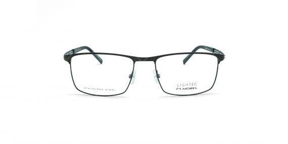 عینک طبی لایتک -  LIGHTEC 30173L - عکاسی وحدت - مشکی - عکس زاویه روبرو