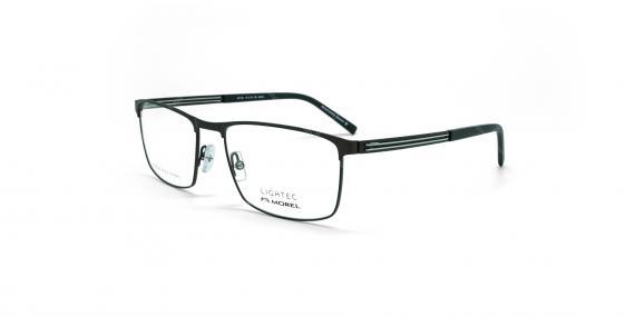 عینک طبی لایتک -  LIGHTEC 30173L - عکاسی وحدت - مشکی - عکس زاویه سه رخ