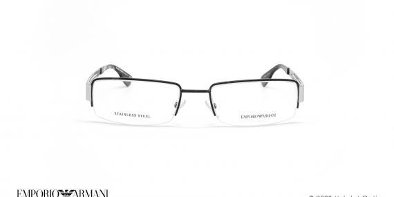 عینک طبی زیرگریف امپریو آرمانی - Emporio Armani EA9598 - مشکی سفید - عکاسی وحدت - زاویه روبرو