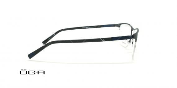 عینک طبی زیرگریف  اگا - OGA 10089O - مشکی - عکاسی وحدت - زاویه بقل