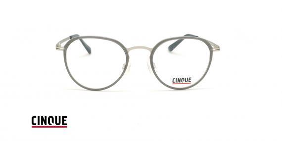عینک طبی بیضی ویستان VISTAN CINCUE 11018 - طوسی - عکاسی وحدت - زاویه روبرو