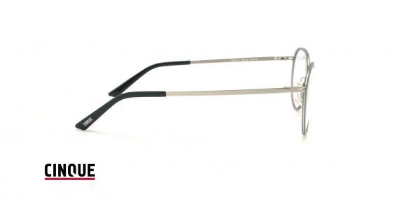 عینک طبی بیضی ویستان VISTAN CINCUE 11018 - طوسی - عکاسی وحدت - زاویه کنار