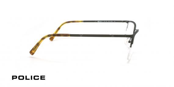 عینک طبی زیر گریف پلیس - POLICE VPL138 INVISIBLE -عکاسی وحدت- عکس زاویه کنار