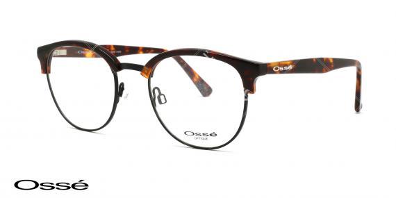 عینک طبی کلاب راند اوسه - وحدت اپتیک - عکس از زاویه سه رخ